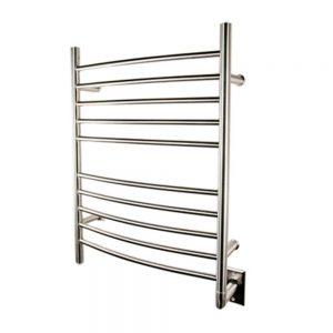 Best towel warmer reviews - Amba RWH-CB Radiant Hardwired Curved Towel Warmer