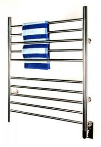 Amba Towel Warmer -RWH SB Radiant Hardwired Straight