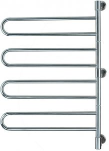 The Towel Warmer - Amba J-B004 P Swivel Jill 25-Inch x 37-Inch