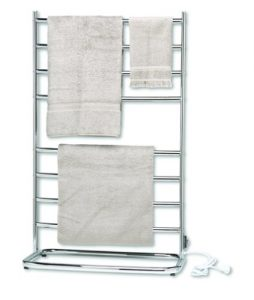 Warmrails whc hyde park floor standing towel warmer