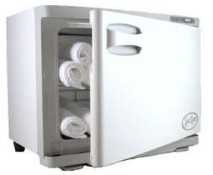 Spa towel warmer - Spa Luxe Towel Cabi