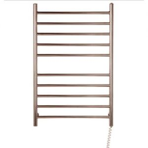 Myson Towel Warmer - wall mount10 bar bright stainless steel pearl